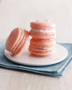 Raspberry Macarons with Cream Cheese Filling | Joy of Kosher