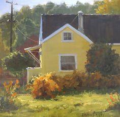 Indian Summer by Kathleen Dunphy Oil ~ 12 x 12