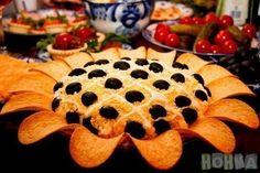 Salāti - saulespuķe