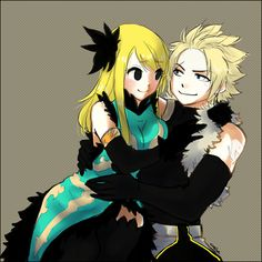 Fairy Tail - Sting and Lucy