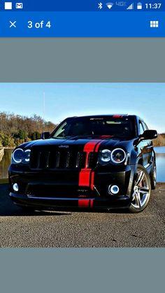 Srt8 Jeep, Jeep Grand Cherokee Srt, Crazy Cars, Weird Cars, Ford Tarus, Jeep Wk, Jeep Tops, Lowrider Trucks, Chevy C10
