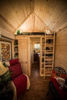 tumbleweed elm 18 overlook 117 sq ft tiny house on wheels 005   Elm 18 Overlook: 117 Sq. Ft. Tumbleweed Tiny Home on Wheels