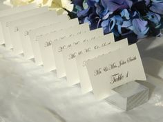 classic round place card holders wedding pinterest place card winter weddings and wedding table cards