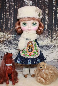 Blythe Outfit-Matryoshka Doll Dress set.(pr-order limited 6 set only) by little dolls room, via Flickr