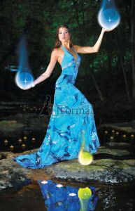 Blue moon dress