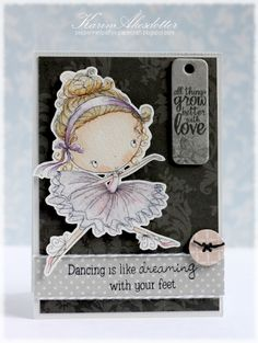 Peppermint Patty's Papercraft: Dancing is like dreaming with your feet!