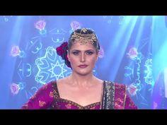 Zarine Khan looks WOW on ramp At India Beach Fashion Week 2016.