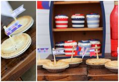 Anders Ruff Custom Designs, LLC: AHOY!  A Nautical Backyard Summer Bash! {Great 4th of July Ideas!}