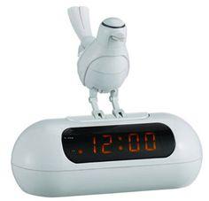 The Okko LED Alarm Clock With Electronic Bird