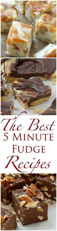 I've gathered the best quick and easy fudge recipes here in one place; so that you'll have them at your fingertips throughout the baking season. Check out the White Chocolate Caramel Fudge, Classic Chocolate...