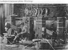 La forge à marteaux-pilons << Bräcking>>