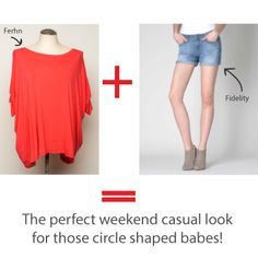 Shop your shape, not your size! Circle Shape, Triangle Shape, Inverted Triangle, Girls Shopping, A Boutique, Body Shapes, Casual Looks, Geek Stuff, Dressing
