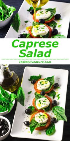 This Caprese Salad is super easy to make and is so good for you! | http://Tastefulventure.com