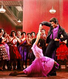Best Supporting Actress and Best Supporting Actor 1962 - Rita Moreno as Anita and George Chakiris as Bernardo in West Side Story  (Oscars/Academy Awards)