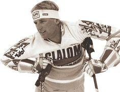 Die zehn Ski-Sternstunden Oberösterreichs: Am 12. Februar 1989 gewann Rudi Nierlich aus St. Wolfgang, der hoch talentierte Rennläufer, seine zweite Goldmedaille bei den alpinen Skiweltmeisterschaften in Vail. Mehr dazu hier: http://www.nachrichten.at/nachrichten/150jahre/ooenachrichten/Nierlichs-Spuren-fuer-die-Ewigkeit;art171762,1643393 (Bild: erhardt)