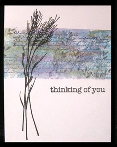 WC Thinking of You by Hambo - Cards and Paper Crafts at Splitcoaststampers