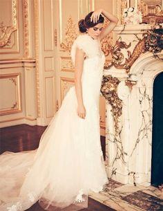 Editorial images of You & Your Wedding, UK, Jan/Feb issue...    From Annasul Y 2012 collection  http://weddinginspirasi.com/2012/02/03/annasul-y-2012-wedding-dresses/