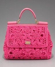 Dolce & Gabbana crocket handbag , from Iryna