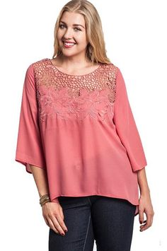 All Tops | Cool Casual Contemporary Plus Size Tops 4 Curves