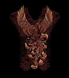 Phoenix on Behance