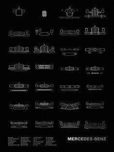 Auto Icon Screen Print Series: Mercedes-Benz – NOMO Design