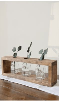 Simple Modern Farmhouse Centerpiece Inspired by - Scrap Wood Series