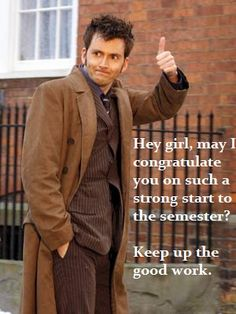 Why thank you Doctor!