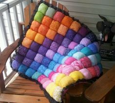 Tummy time baby bubble quilt