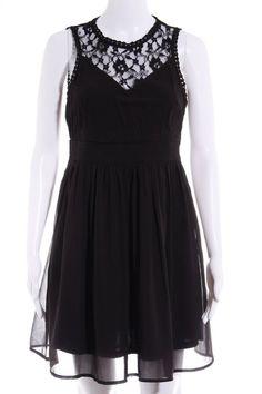 73ce05e45cf VERO MODA A-Linien Kleid schwarz Elegant Damen Gr. DE 36 Dress A Line