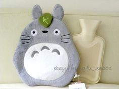 Totoro hot water bottle