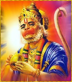 "☀ SHRI HANUMAN ॐ ☀ ""Those persons who always chant ""Shri Ram"", ""Shri Ram"", without any doubt would get victory as well as salvation and happiness. Hanuman Ji Wallpapers, Ram Hanuman, Hindu Worship, Lord Rama Images, Shiva Shankar, Hanuman Images, Sai Baba Photos, God Pictures, Indian Gods"