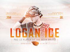 Oregon State - Logan Ice by Christopher Muñoz