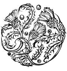 Resultado de imagem para thistle tattoo