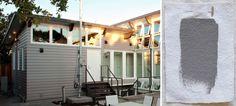 Best Exterior Gray Outdoor House Paint Color, Benjamin Moore Graystone, Gardenista