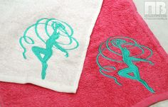 Подарочная #вышивка на полотенцах #полотенца #embroidery