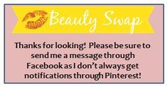 PLEASE READ! My Facebook name and my Pinterest name is the same.