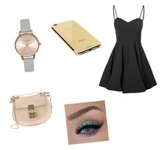 """""""Untitled #31"""" by leticiaafonso-b on Polyvore featuring Glamorous, Goldgenie, Olivia Burton and Chloé"""