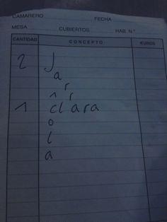 """cuenta curiosa, Valladolid """"El cafetín"""""""