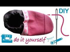 Nähanleitung für Lederpuschen mit Schnittmuster zum selber nähen --- Krabbelschuhe --- - YouTube