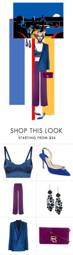 """""""Beverly"""" by ladyarchitect ❤ liked on Polyvore featuring La Perla, Paul Andrew, Nine West, Haider Ackermann and Ralph Lauren"""