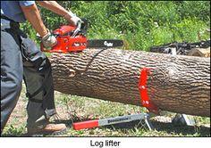 Woodchuck Quad Log Jack - Lee Valley Tools