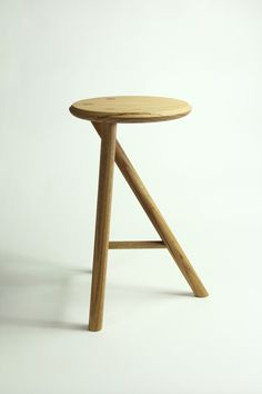 Tentative Stool by Robin Oglesbee-Venghaus, via Behance
