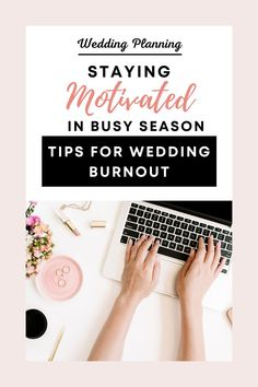 An endless list of clients meets harsh deadlines and hot weather—it's a tough time for everyone involved. It can also be an incredibly exciting time and defining for your wedding planner career. But how do you avoid wedding burnout? When everything gets to be too much and you can't be motivated to keep up, what do you do? #weddingburnout #weddingplanning Wedding Coordinator, Wedding Planner, Medical Help, Industrial Wedding, How To Stay Motivated, Wedding Tips, Wedding Season, Perfect Wedding, Something To Do