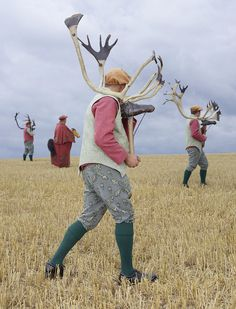 Photos of Reenacted Folk Costume Charles Fréger's photo series Wilder Mann is the result of his travels across 18 European countries purs. Charles Freger, European Costumes, Fantastic Mr Fox, Costumes Around The World, Man Photography, Photo Series, Archetypes, Beast, Folk
