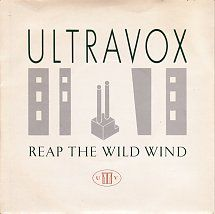 45cat - Ultravox - Reap The Wild Wind / Hosanna (In Excelsis Deo) - Chrysalis - UK - CHS 2639