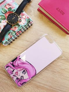 Only for girls! 💗 #etui #case #obudowa #pokrowiec #phone #telefon #pink #girl