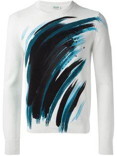 Kenzo  3tl  Sweatshirt - - Farfetch.com Mode Homme, Vêtements De Marque a08139b8d79