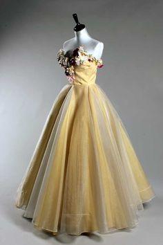 Madame Grès ball gown, 1953