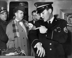 """Ahh yeah Sgt. Presley,he had to know thoses were the wrong stripes,as he was premoted to a """"Buck"""" Sgt..  and those Elvis is showing off is a higher rank stripe ...the """"Master""""Sgt. ...One of the first things you learn in the army,was the chain of command! real nice army -period photos"""