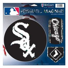 Chicago White Sox Magnets 11x11 Prismatic Sheet